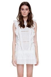 English Factory Eyelet Dropwaist Dress - Front cropped