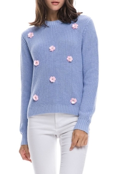 Shoptiques Product: Floral Applique Sweater