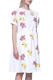 English Factory Floral Embroidered Dress - Front full body