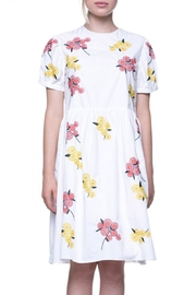English Factory Floral Embroidered Dress - Product Mini Image