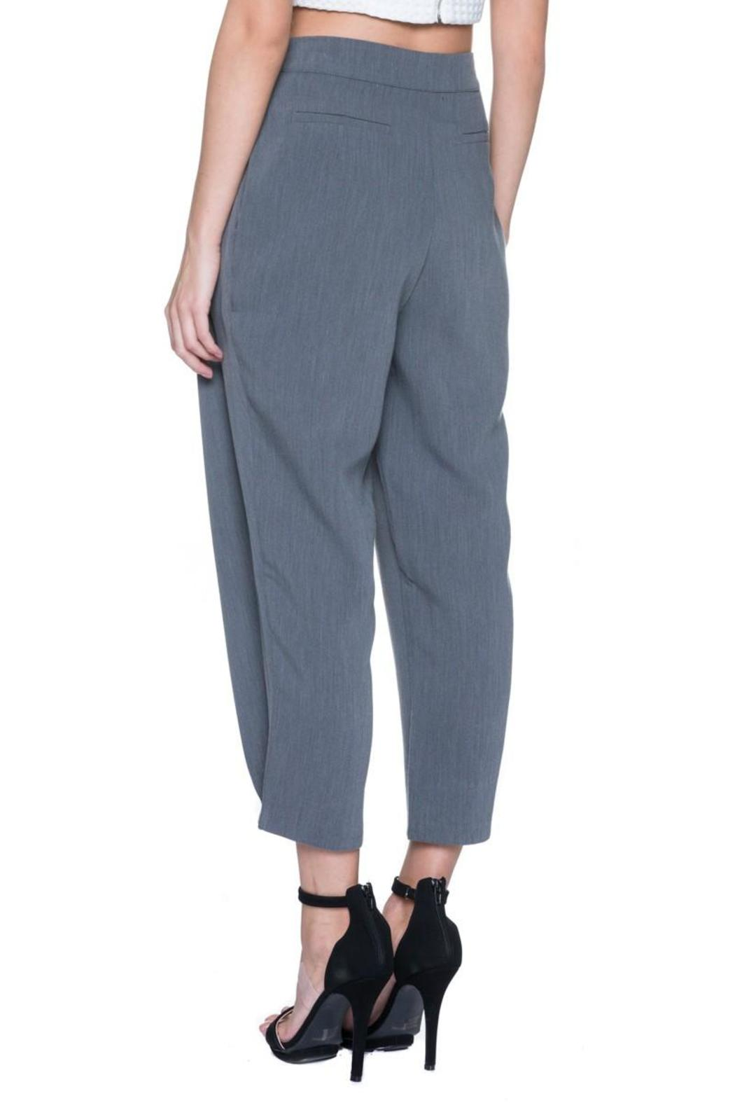 English Factory High Waist Trouser - Side Cropped Image