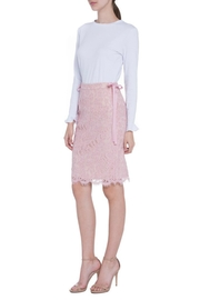 English Factory Lace Pencil Skirt - Front full body