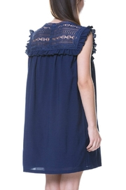English Factory Lace Yoke Dress - Front full body