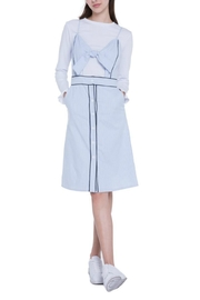 English Factory Layered Woven Dress - Product Mini Image
