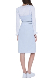 English Factory Layered Woven Dress - Front full body