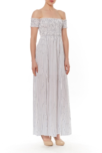 English Factory Off-Shoulder Maxi Dress - Main Image