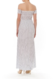 English Factory Off-Shoulder Maxi Dress - Front full body