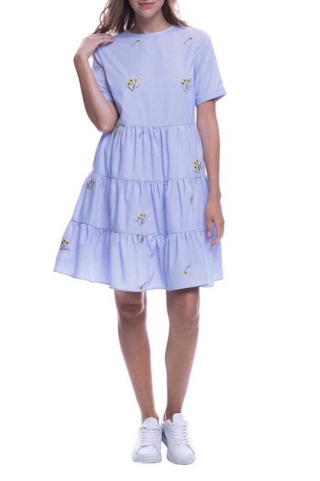 English Factory Periwinkle Dress - Main Image
