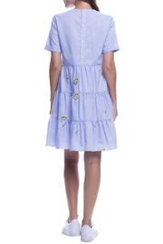 English Factory Periwinkle Dress - Side cropped
