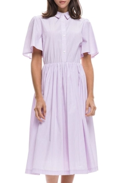 Shoptiques Product: Pink Striped Shirtdress
