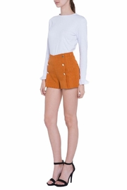 English Factory Pinstripe Shorts - Side cropped