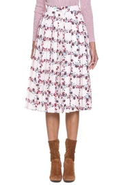 English Factory Rose Pleated Skirt - Product Mini Image