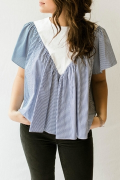 Shoptiques Product: Striped Streetstyle Blouse