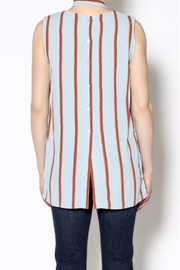 English Factory Striped Tunic - Front full body