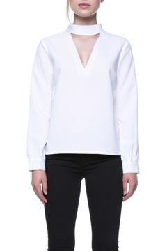 English Factory White Choker Top - Product List Image