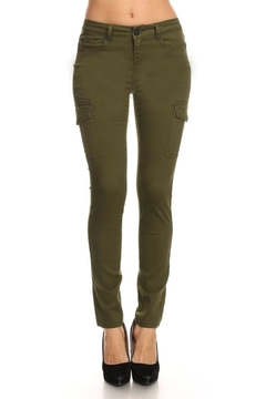 Shoptiques Product: Cargo Skinny Jeans