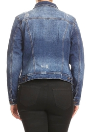 ENJean Distressed Demin Jacket - Front full body
