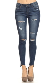 ENJean Distressed Denim Jean - Product Mini Image