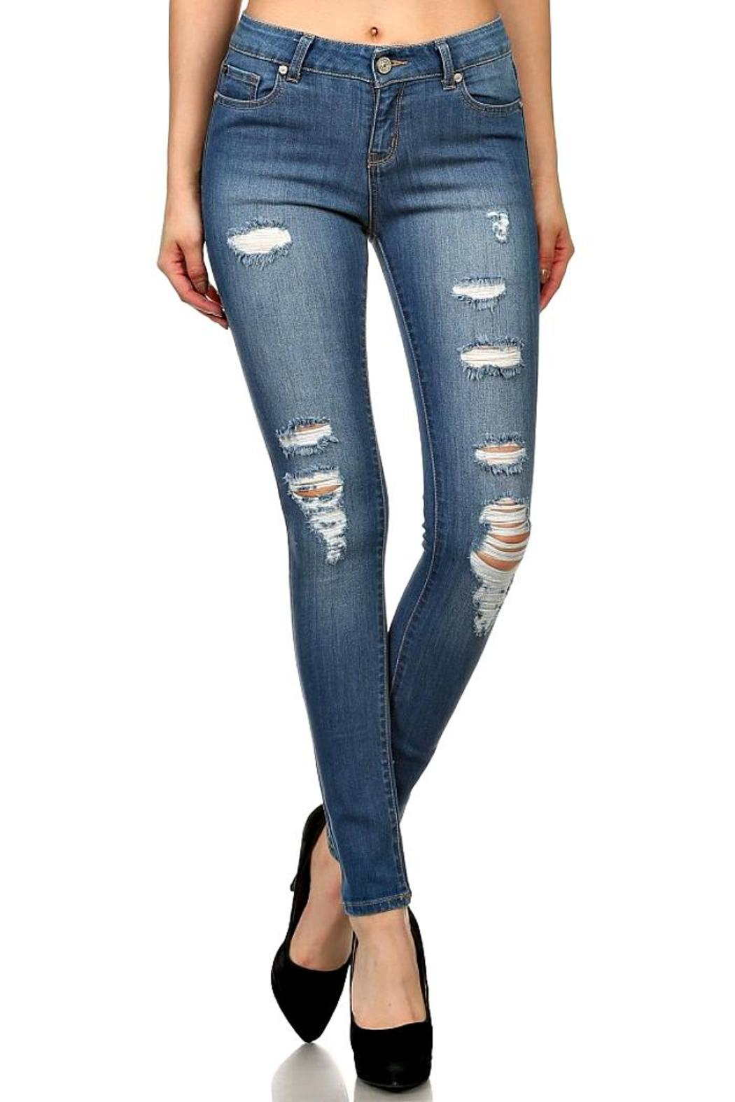 ENJean Holey Moley Skinnies - Main Image