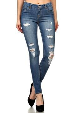 Shoptiques Product: Holey Moley Skinnies