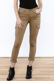ENJean Khaki Cargo Pants - Product Mini Image