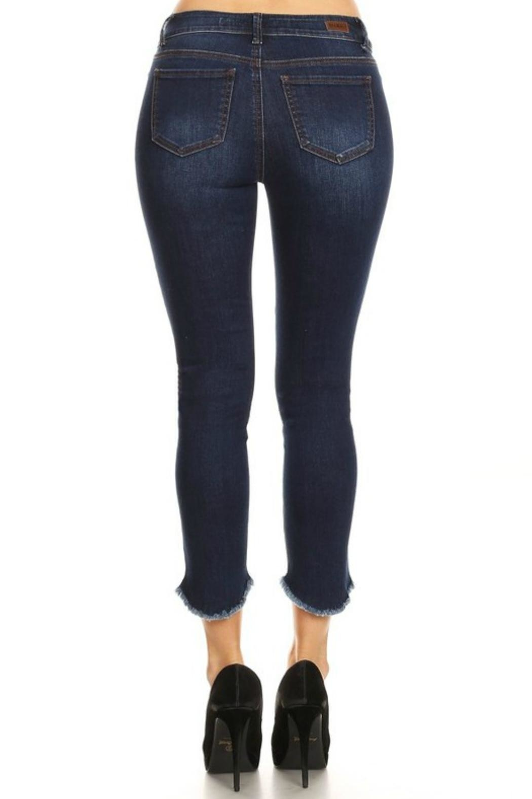 e859773559846 ENJean Raw Hem Skinny from Texas by POE and Arrows — Shoptiques