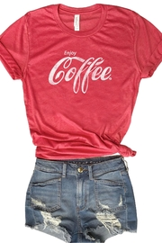 Everfitte Enjoy Coffee Tee - Product Mini Image