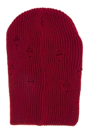 ENKYN Distressed Beanie - Front cropped