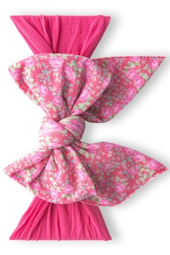 Shoptiques Product: Enormous Bow Headband Bitty Blossom