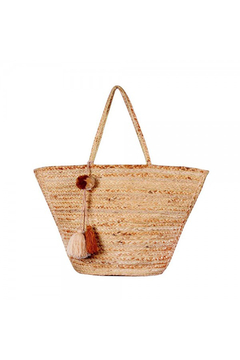 America & Beyond Enshrine Handwoven Jute Tote - Alternate List Image