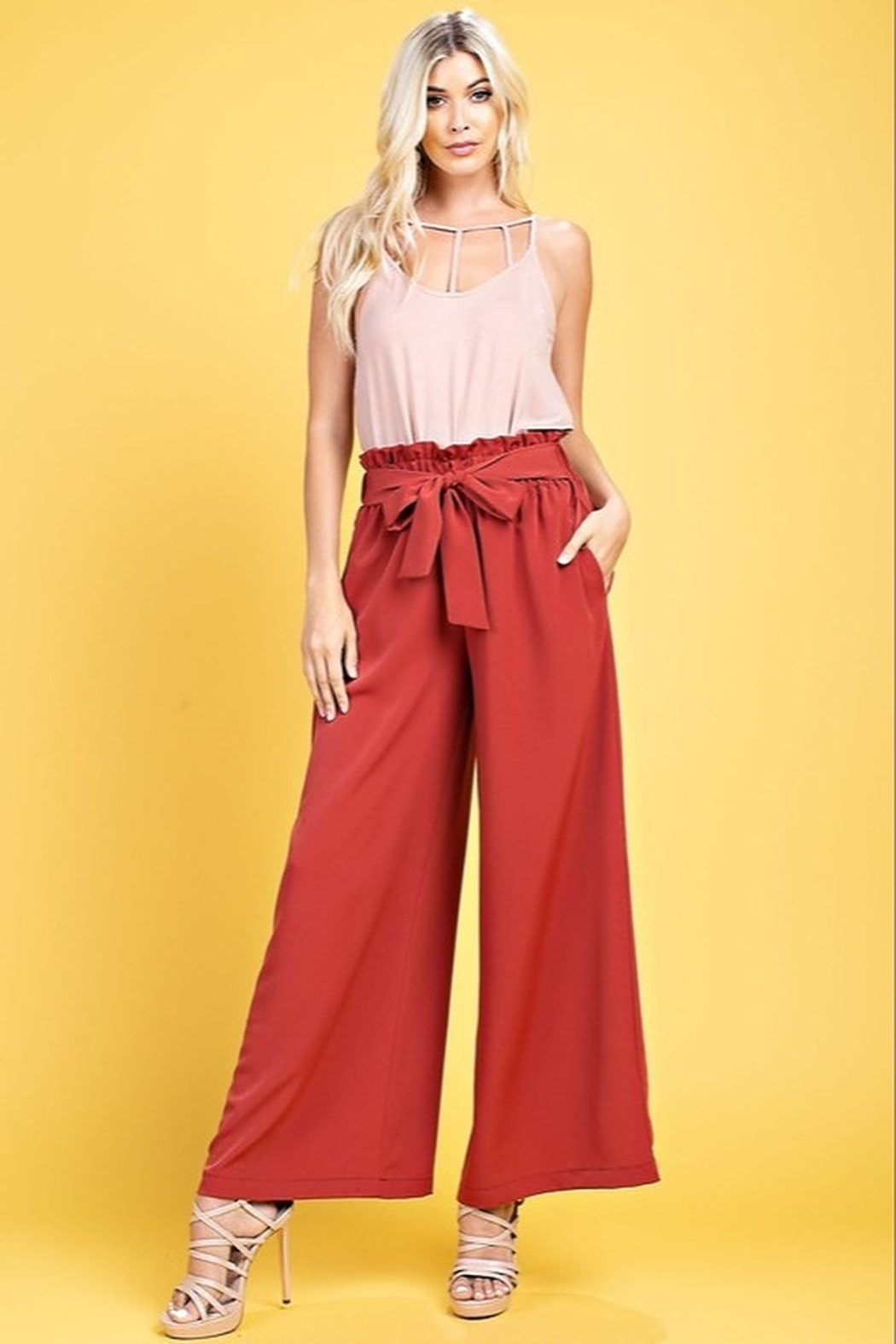 143 Story Ensley Pants - Front Cropped Image