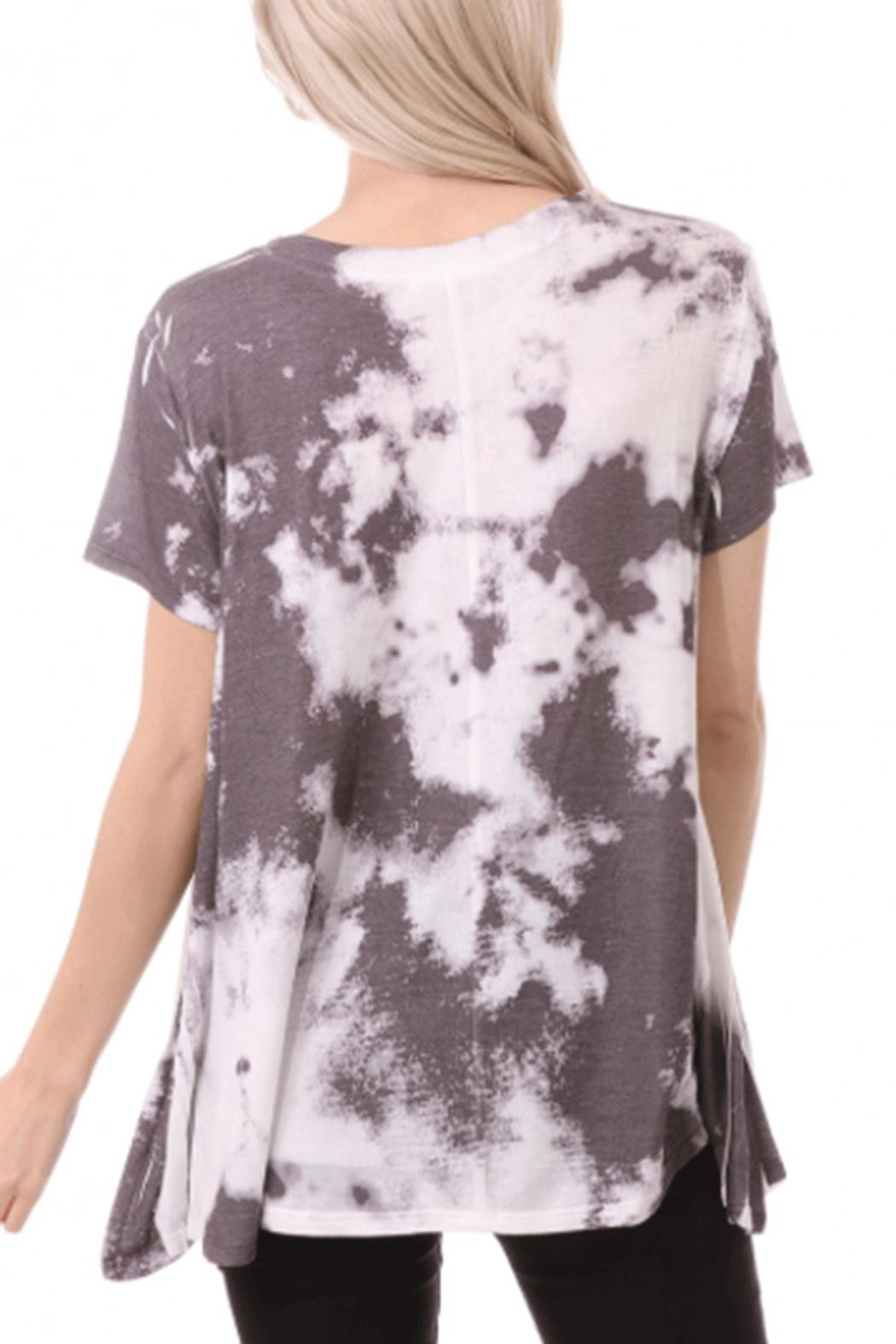 ENTI Dyed Swing Top - Front Full Image