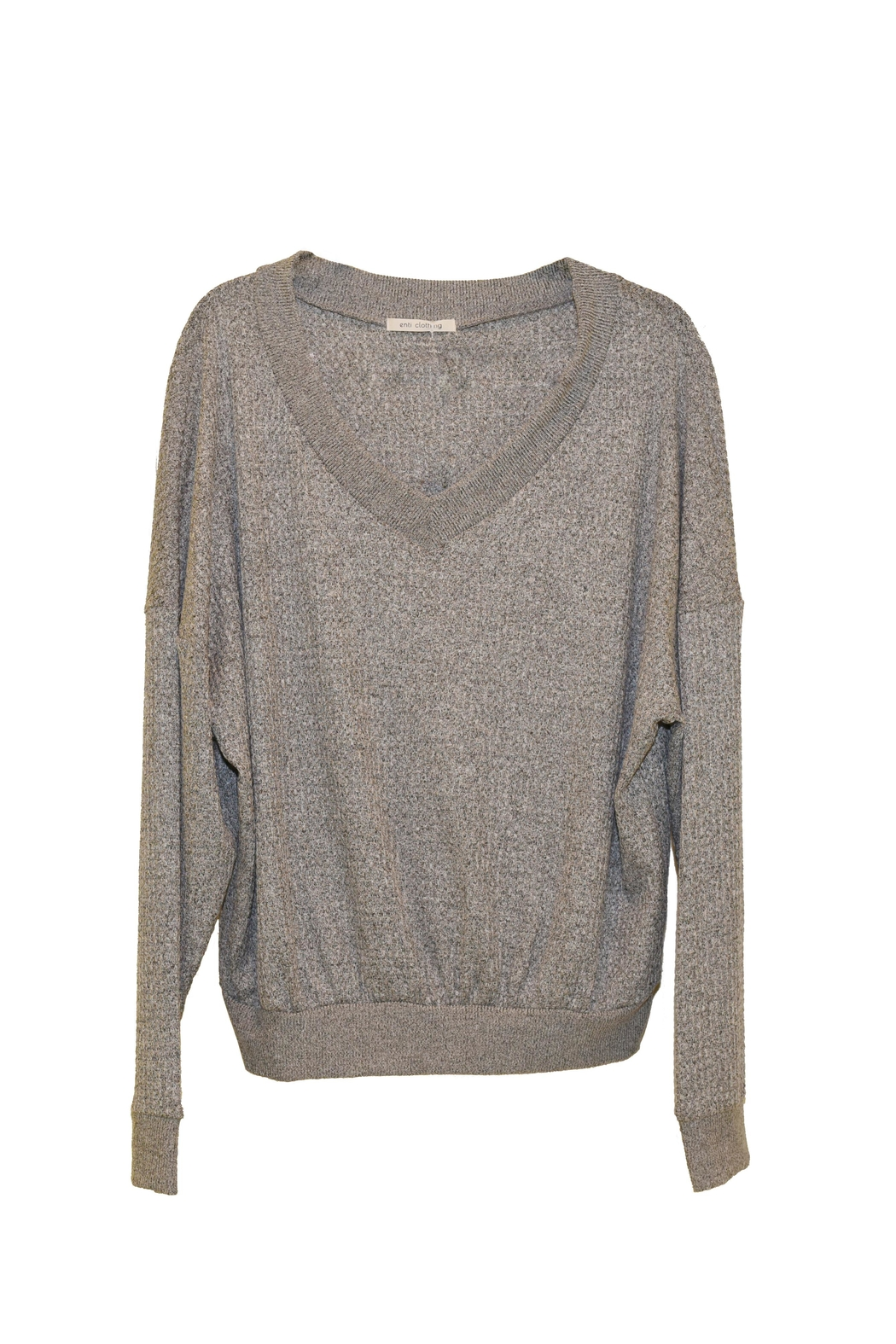 ENTI Knit Sweater - Front Cropped Image