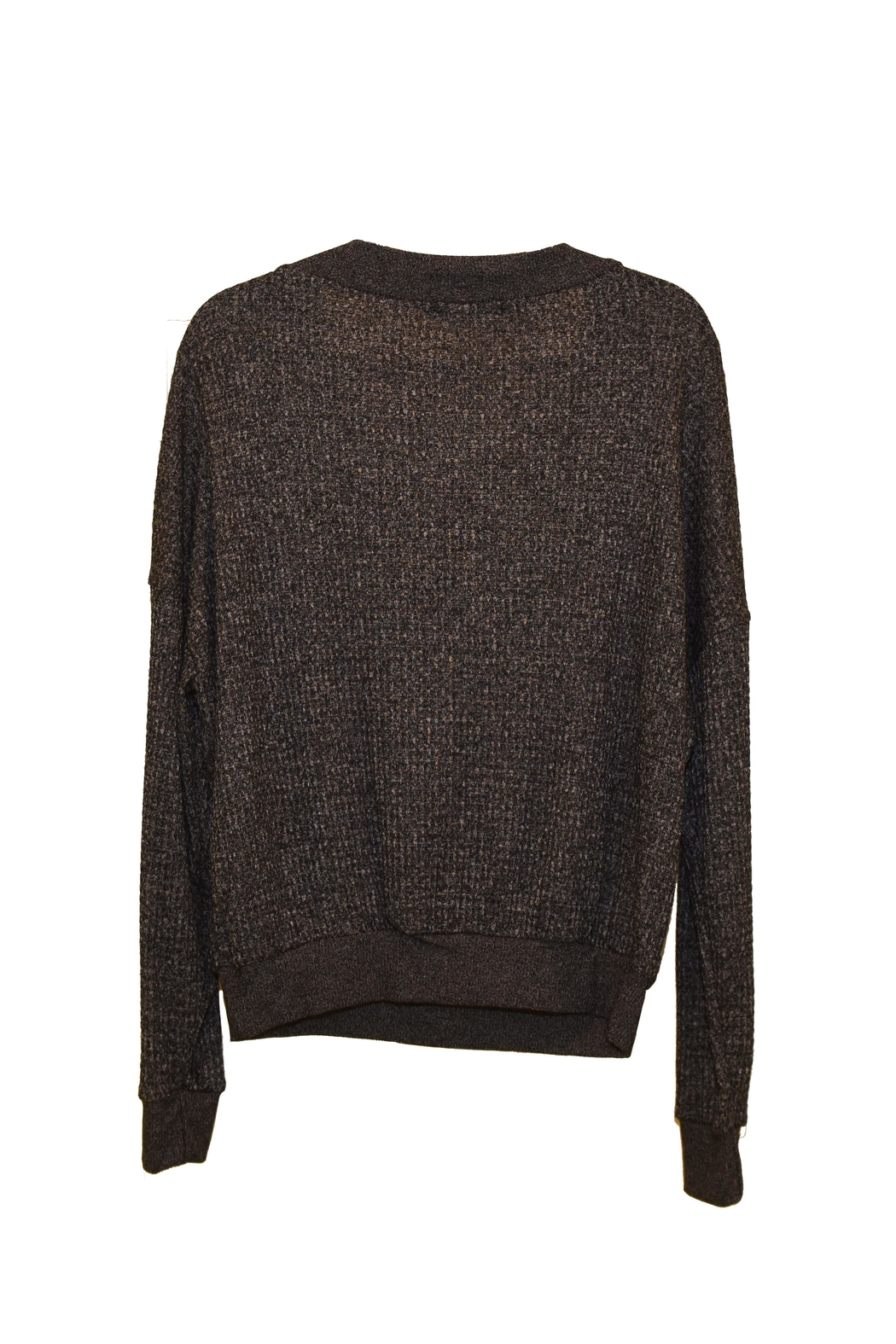 ENTI Knit Sweater - Front Full Image