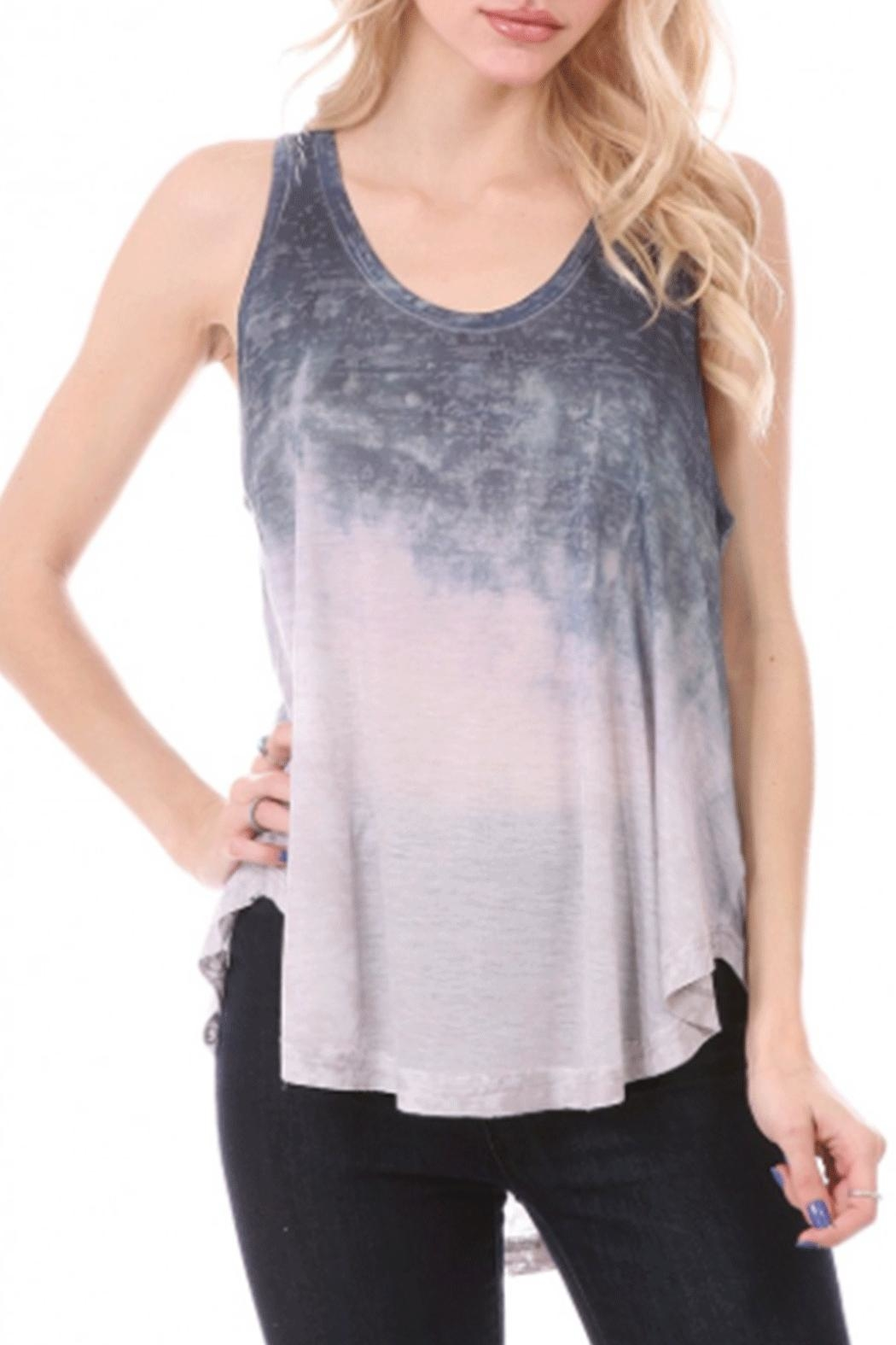 ENTI Ombre Tank Top - Front Cropped Image