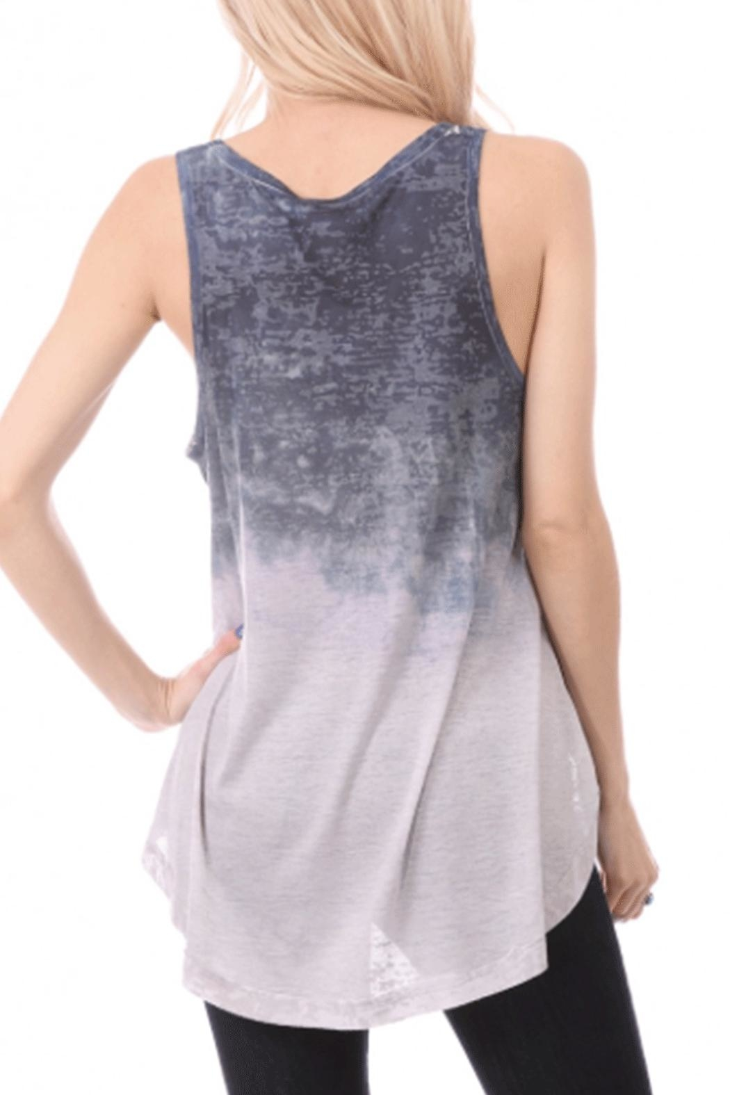 ENTI Ombre Tank Top - Front Full Image
