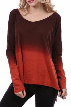 Shoptiques Product: Rust Ombre Top