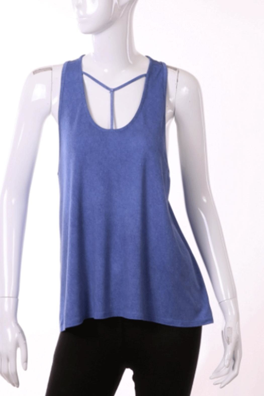ENTI Strappy Tank - Front Cropped Image