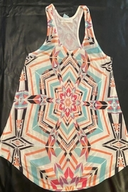 enti glamour Aztec Tank Top - Front cropped
