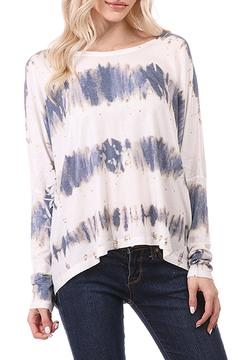 Shoptiques Product: Tye Dyed Oversized Shirt