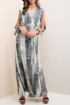 Shoptiques Product: Animal Print Maxi Dress