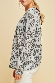 Entro Animal Print Top - Side cropped