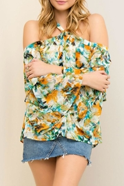 Entro Alona Floral Blouse - Product Mini Image