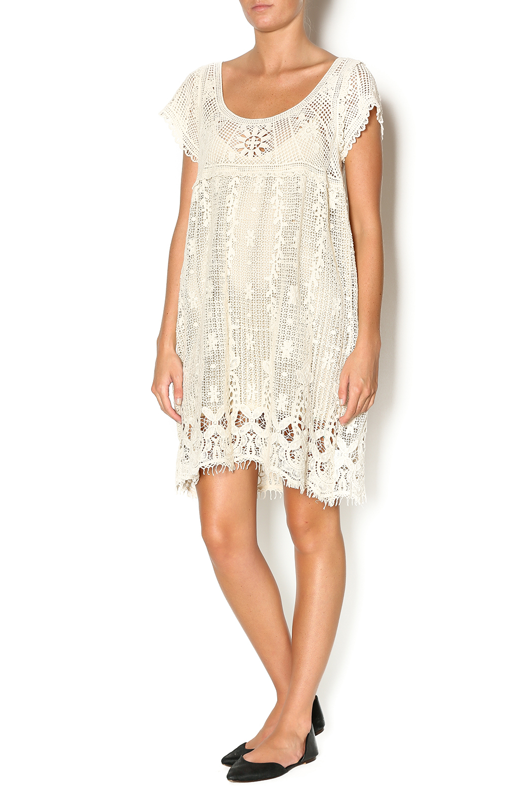 Entro Baby Doll Crochet Dress from Montana by The Banyan