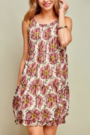 Entro Babydoll Sleeveless Dress - Product Mini Image