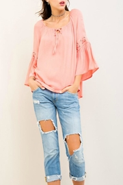 Entro Bell Sleeve Top - Product Mini Image