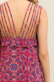 Entro Berry Strapped Dress - Other