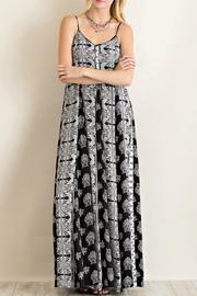 Entro Black Print Maxi - Product Mini Image