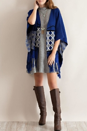 Entro Blue Kimono Sweater - Product Mini Image