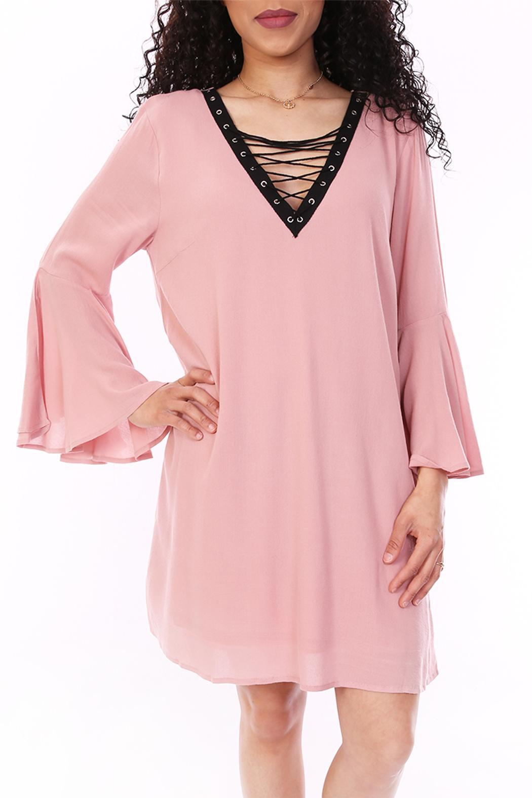 603628318c0 Entro Blush Pink Dress from Dallas by Tangled Society — Shoptiques